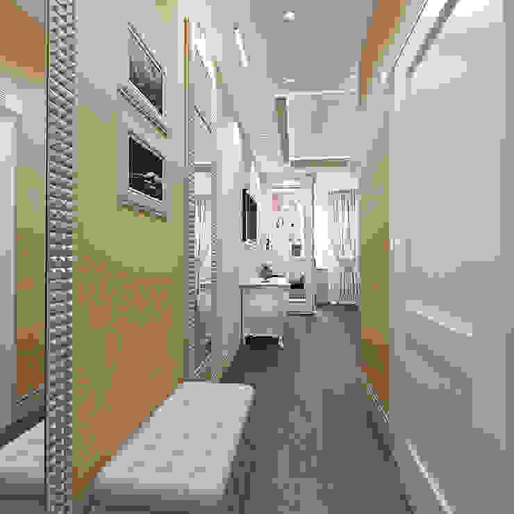 квартира на Гарибальди Коридор, прихожая и лестница в классическом стиле от ООО 'Студио-ТА' Классический