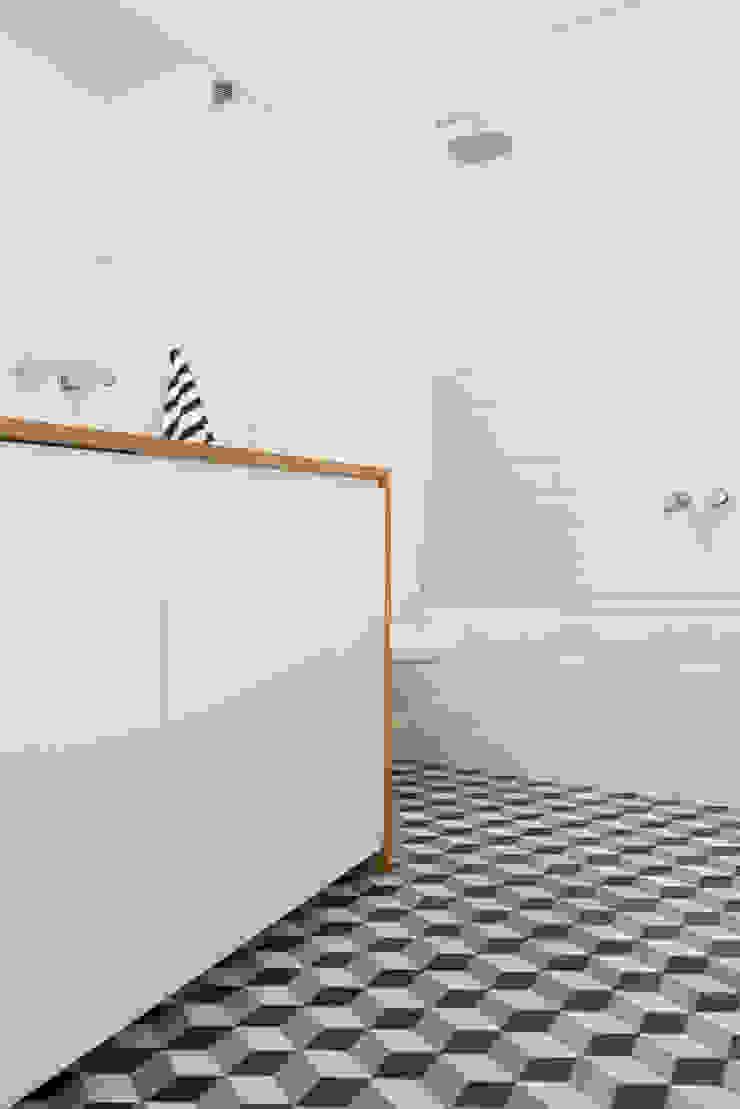 52m, Kamionek, Wwa Skandynawska łazienka od dziurdziaprojekt Skandynawski