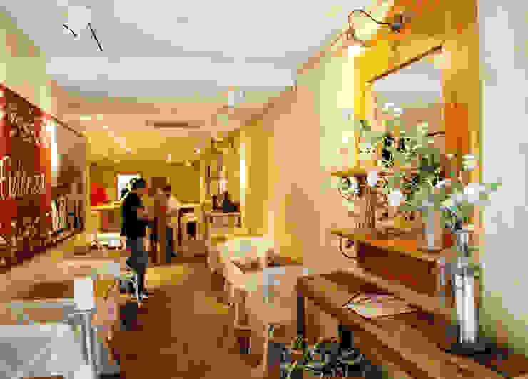 Pizzería Gastronomía de estilo rústico de Vicente Galve Studio Rústico