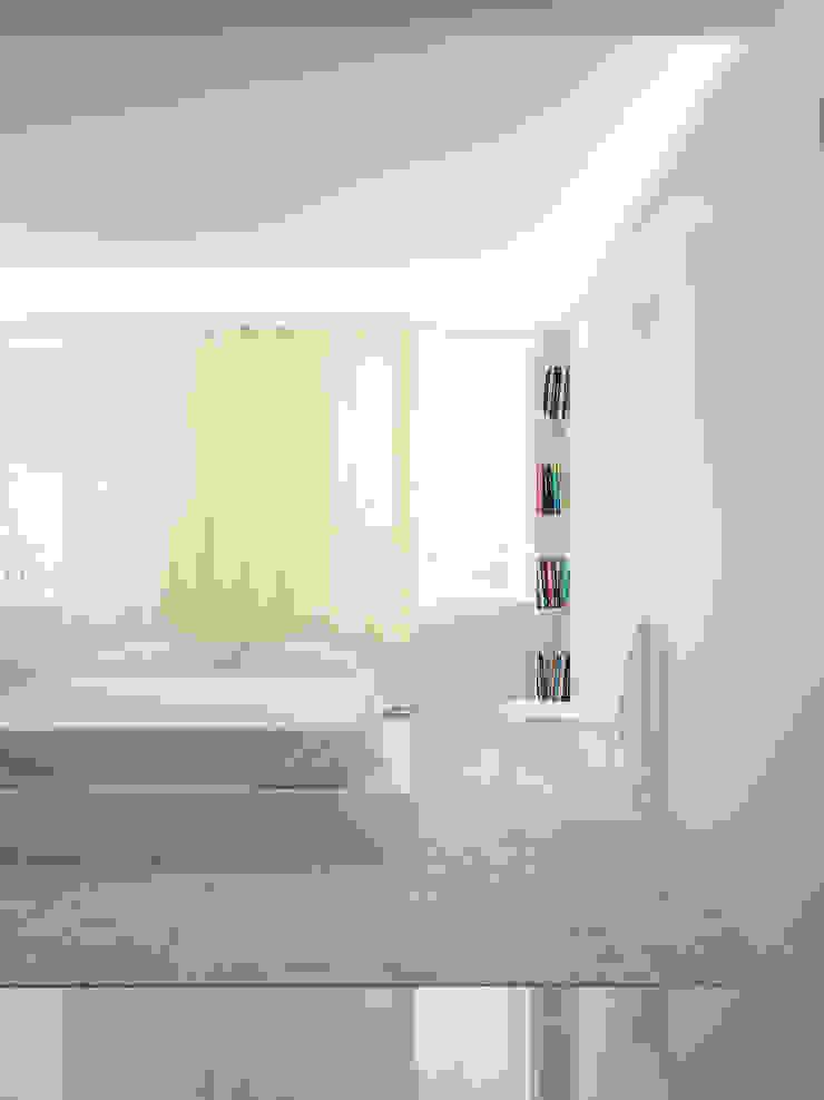 Квартира в ЖК Московский Спальня в стиле минимализм от Dmitriy Khanin Минимализм