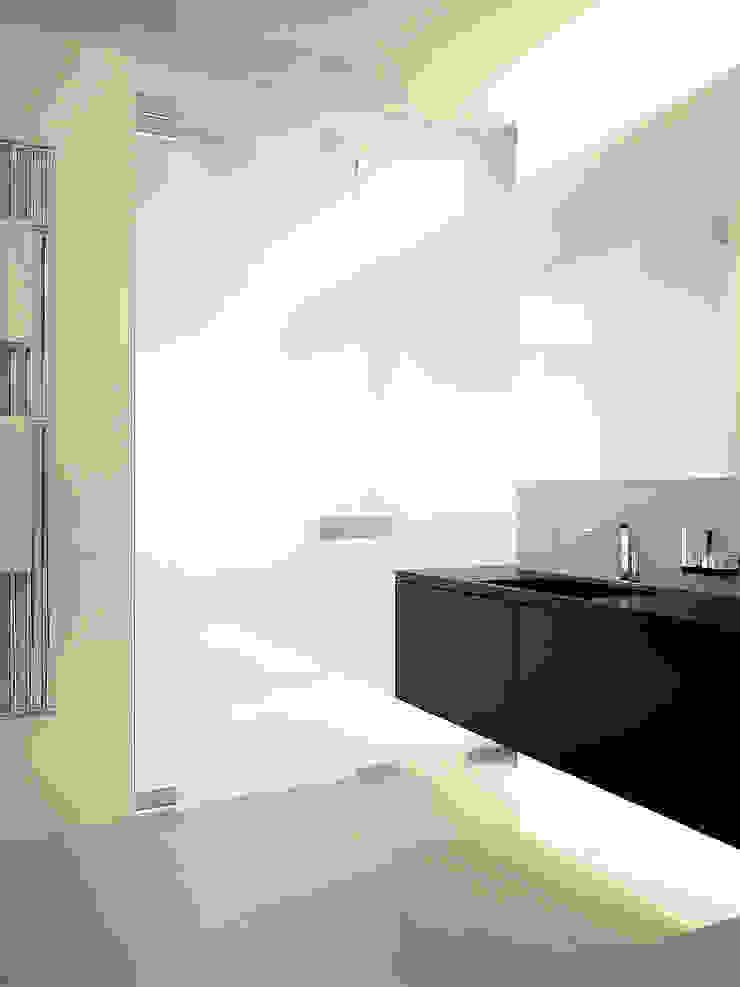 Квартира в ЖК Московский Ванная комната в стиле минимализм от Dmitriy Khanin Минимализм