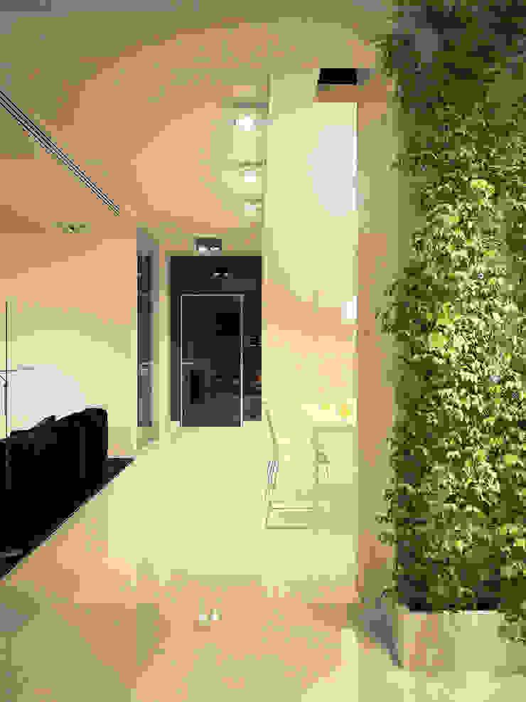 Квартира в ЖК Московский Коридор, прихожая и лестница в стиле минимализм от Dmitriy Khanin Минимализм