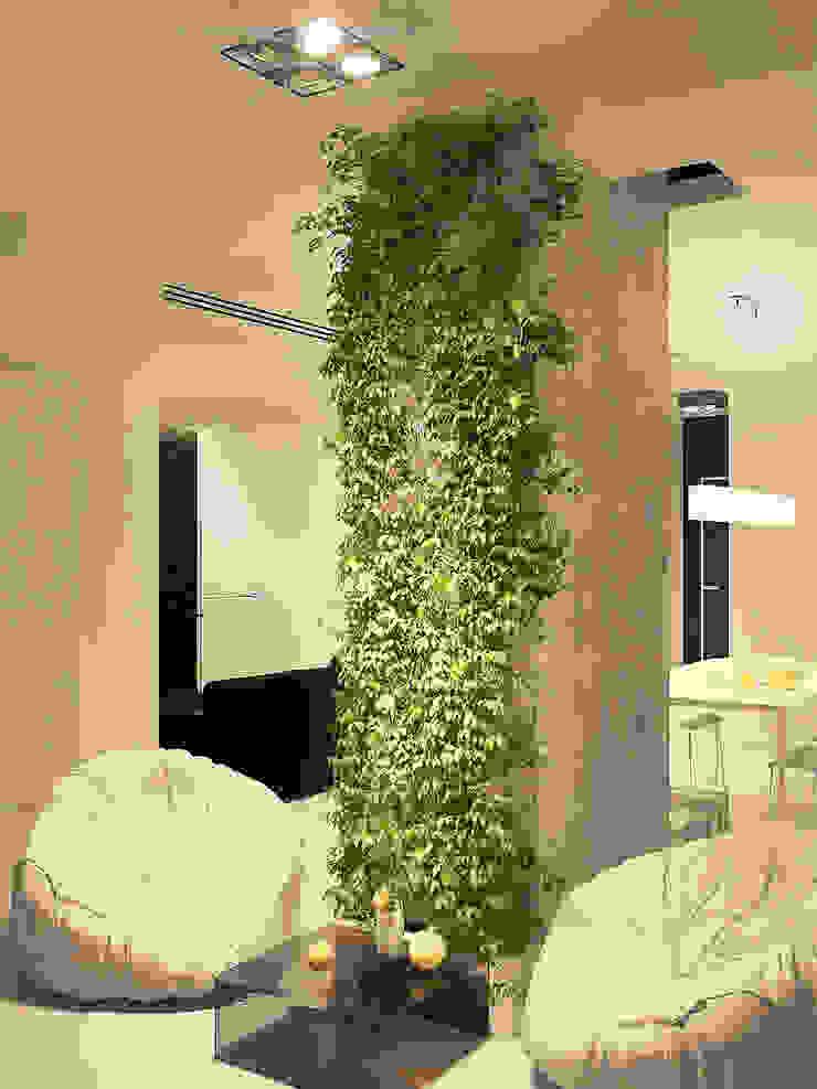 Квартира в ЖК Московский Балкон и терраса в стиле минимализм от Dmitriy Khanin Минимализм
