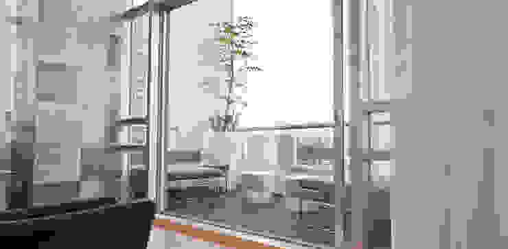 Torre Aura Altitud: Terrazas de estilo  por STUDIO ALMEIDA DESIGN, Moderno