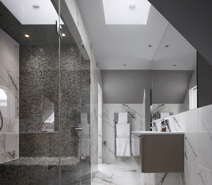 Creighton Avenue Modern bathroom by Andrew Mulroy Architects Modern