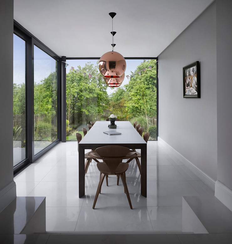 Creighton Avenue Andrew Mulroy Architects Modern dining room