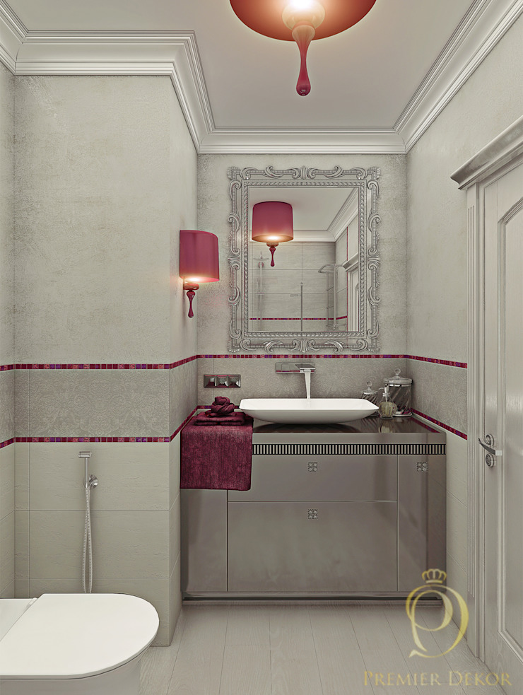 Новое звучание Ванная комната в эклектичном стиле от Premier Dekor Эклектичный