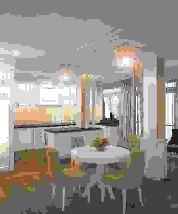 Private residence in Ekaterinburg Кухня в классическом стиле от E_interior Классический