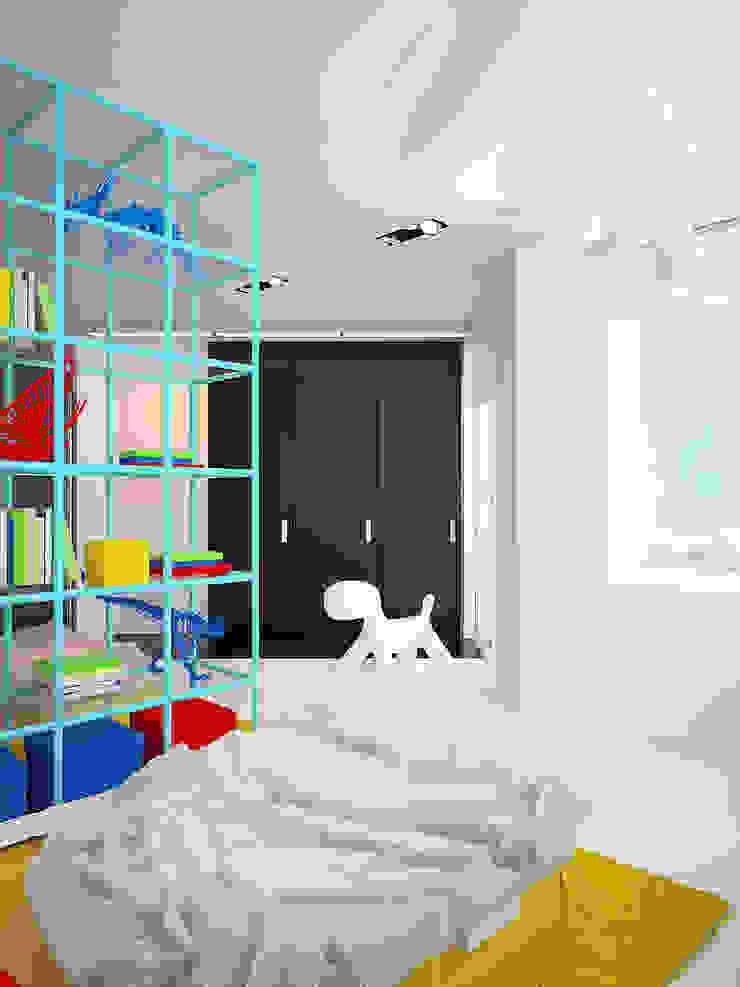 Квартира в ЖК Антарес. Екатеринбург. Детская комнатa в стиле минимализм от Dmitriy Khanin Минимализм