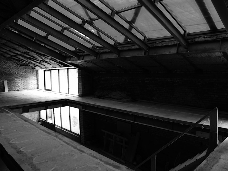 "Трехуровневый Пентхаус ""Вилла На крыше"" от Svetozar Andreev Architectural Studio: Hotei-Russia Минимализм"