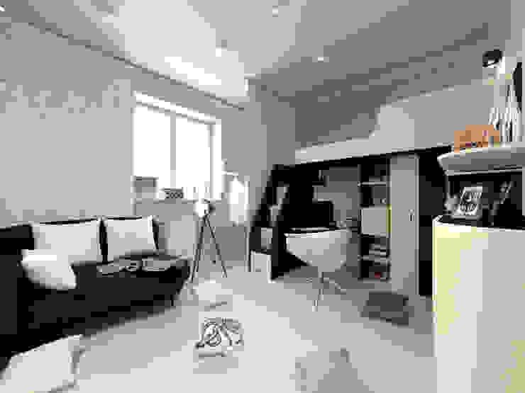 Скандинавия: визуализация современной квартиры Детская комната в стиле модерн от OK Interior Design Модерн