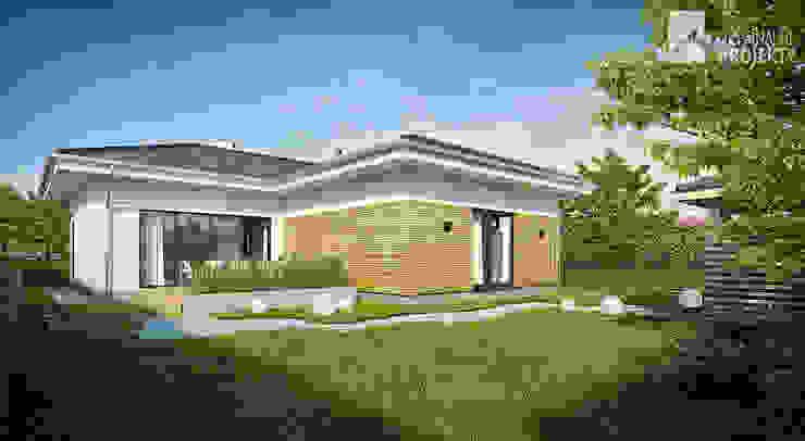 Projekt domu Ignotus Nowoczesne domy od Oryginalneprojekty s.c. Nowoczesny