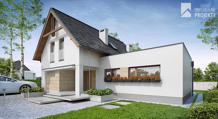 Oryginalneprojekty s.c. Classic style houses