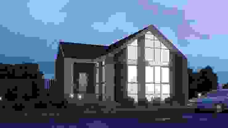 Реконструкция жилого дома под магазин Дома в скандинавском стиле от Архитектурная мастерская DOME Скандинавский