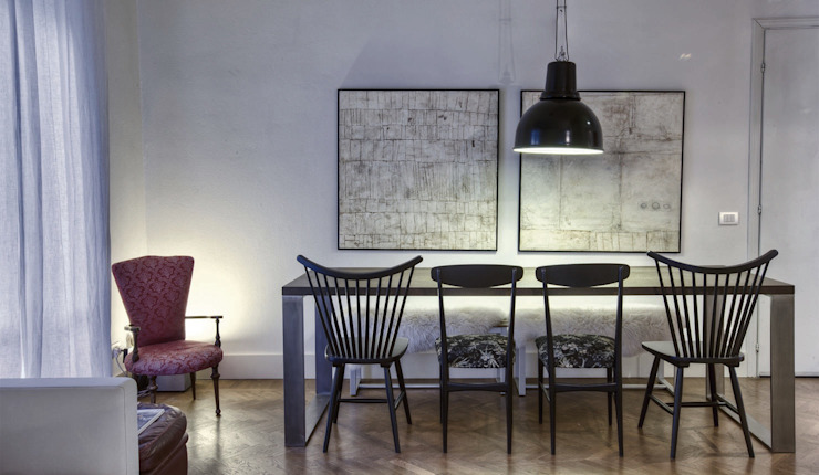Ruang Keluarga Modern Oleh cristina zanni designer Modern