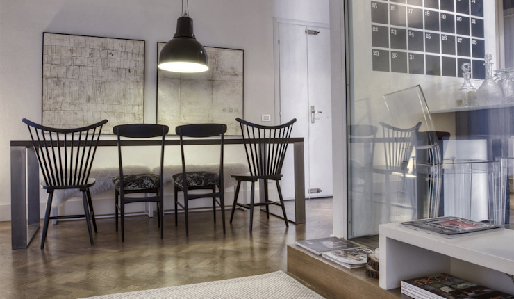 Ruang Makan Modern Oleh cristina zanni designer Modern