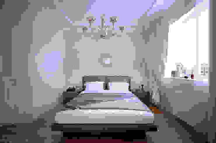 """Дизайн спальни в стиле """"Неоклассика"""" в ЖК """"Екатеринодар"""" (Краснодар) Спальня в классическом стиле от Студия интерьерного дизайна happy.design Классический"""