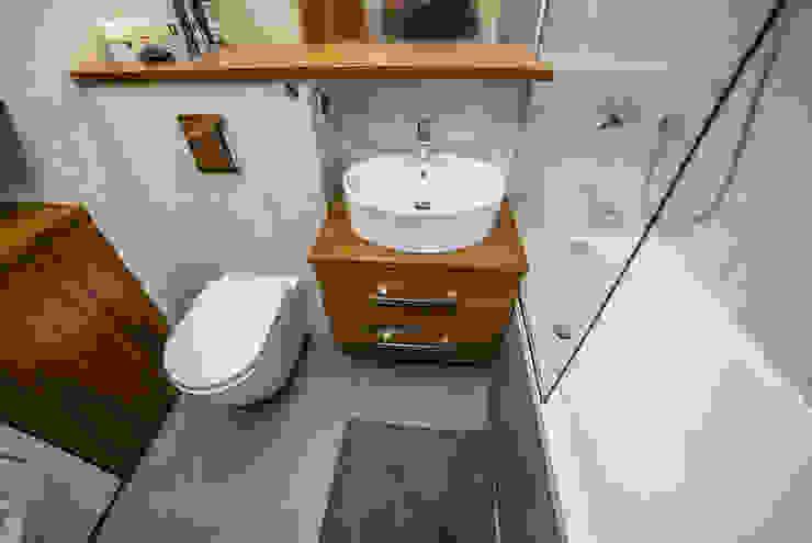 Baños de estilo rústico de Och_Ach_Concept Rústico
