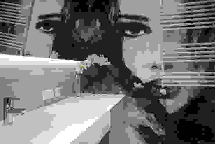Apartament w Soho-Factory Warszawa Nowoczesna łazienka od I Home Studio Barbara Godawska Nowoczesny