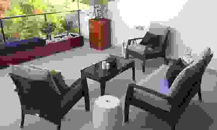 Akdeniz Balkon, Veranda & Teras Santiago | Interior Design Studio Akdeniz