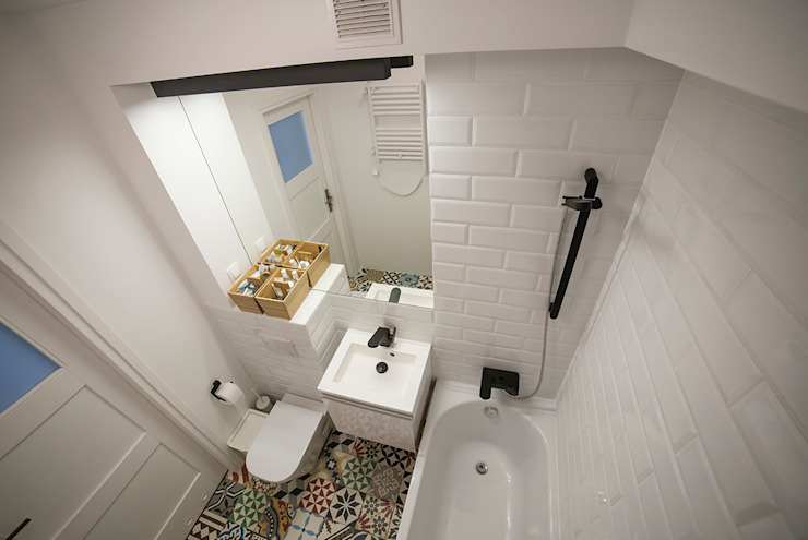 FRN2 Skandynawska łazienka od Och_Ach_Concept Skandynawski