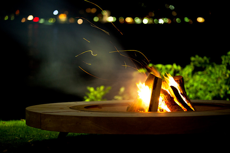 rondo firepit wood-fired oven Garden Fire pits & barbecues