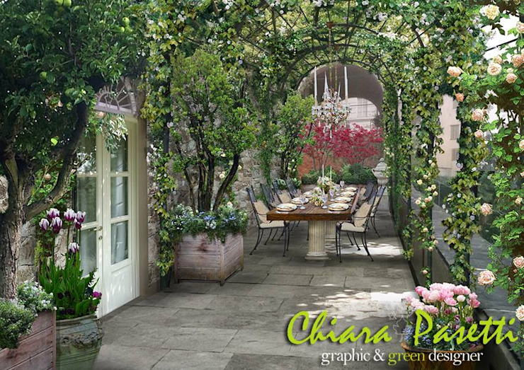 Classic style conservatory by Chiara Pasetti Graphic&Green Designer Classic
