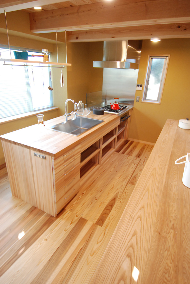 アイランドキッチン オリジナルデザインの 子供部屋 の 豊田空間デザイン室 一級建築士事務所 オリジナル