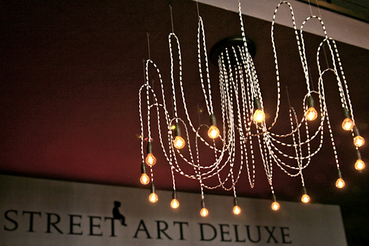 Lampa CableSIXTEEN w street art deluxe od CablePower Nowoczesny