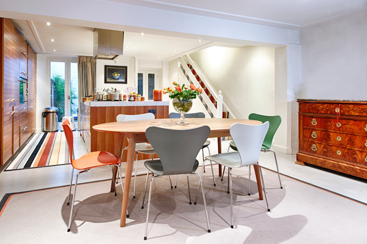 Dining room by Warp & Weft (uk) Ltd,