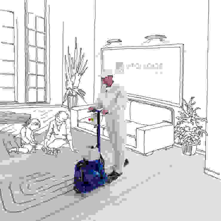 INTOFLOOR Fußbodenheizung Salon classique