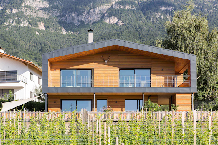 Casas de estilo  de Manuel Benedikter Architekt, Moderno