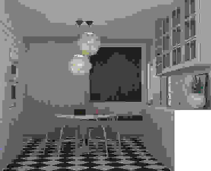 COZINHA BELOURA Cozinhas mediterrânicas por Santiago   Interior Design Studio Mediterrânico