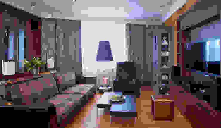 Irina Tatarnikova Eclectic style living room