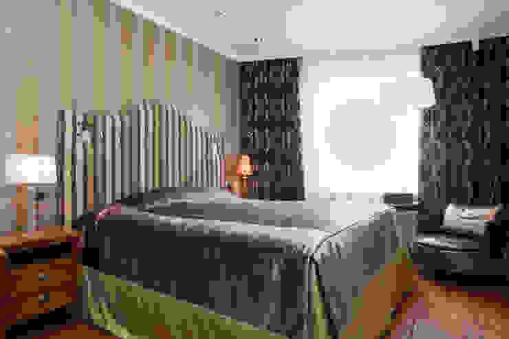 Irina Tatarnikova Eclectic style bedroom