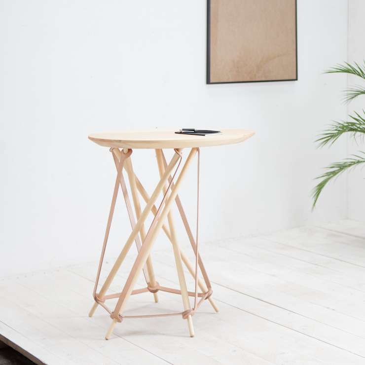Dome Minimalistyczny salon od Lith Lith Lundin Minimalistyczny