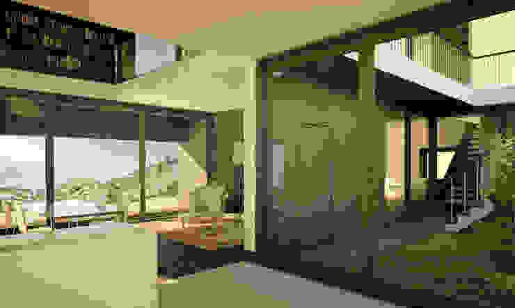 Salon méditerranéen par ADAPT Arquitectos Méditerranéen