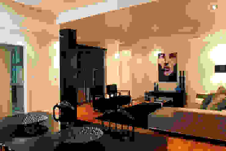 Reabilitação Apartamento Chiado Salas de estar modernas por Architecture Tote Ser Moderno
