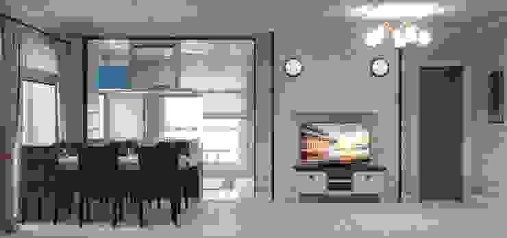 Загородный дом Гостиная в стиле кантри от Center of interior design Кантри