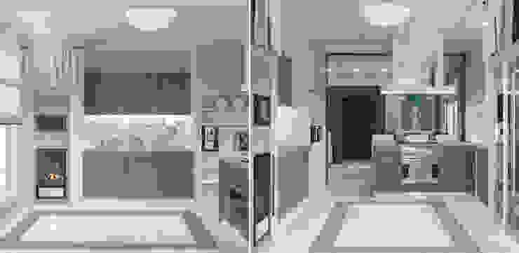 Загородный дом Кухня в стиле кантри от Center of interior design Кантри