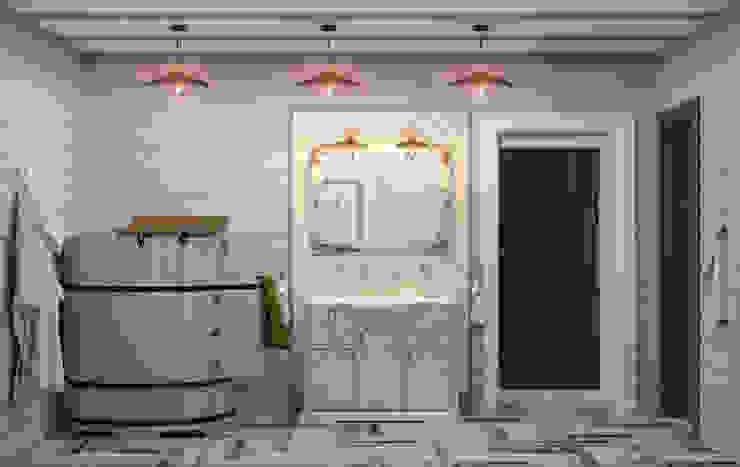 Загородный дом Ванная комната в стиле кантри от Center of interior design Кантри