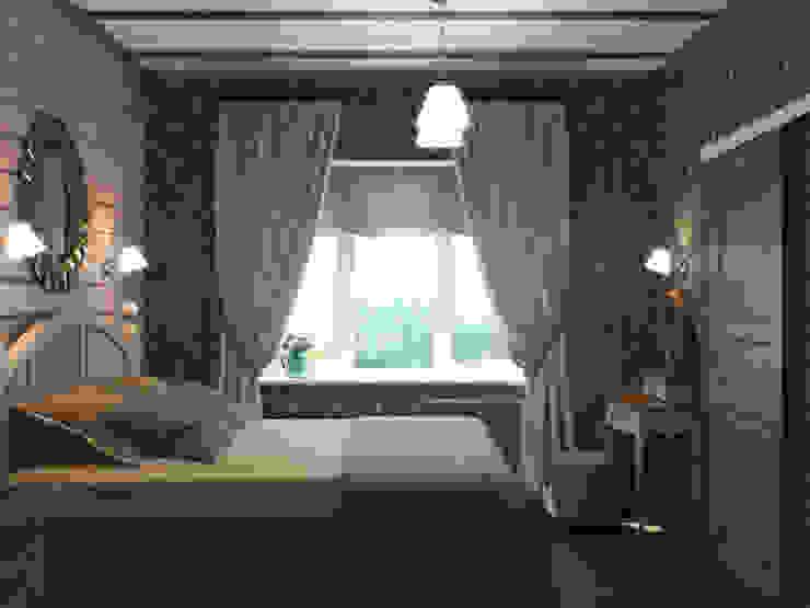 Загородный дом Спальня в стиле кантри от Center of interior design Кантри