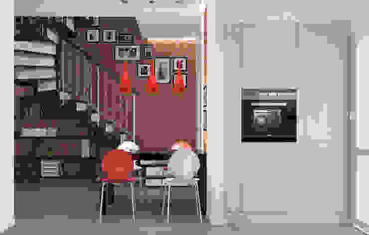 Блок-секция Столовая комната в стиле лофт от Center of interior design Лофт