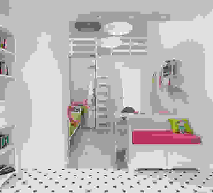 Блок-секция Детская комната в стиле лофт от Center of interior design Лофт