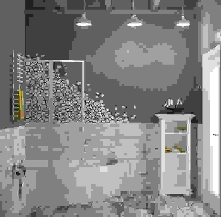 Блок-секция Ванная в стиле лофт от Center of interior design Лофт