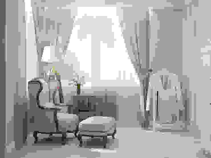 Роскошная квартира в черте города Спальня в эклектичном стиле от Center of interior design Эклектичный