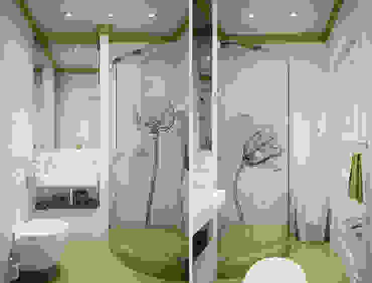 Роскошная квартира в черте города Ванная комната в эклектичном стиле от Center of interior design Эклектичный