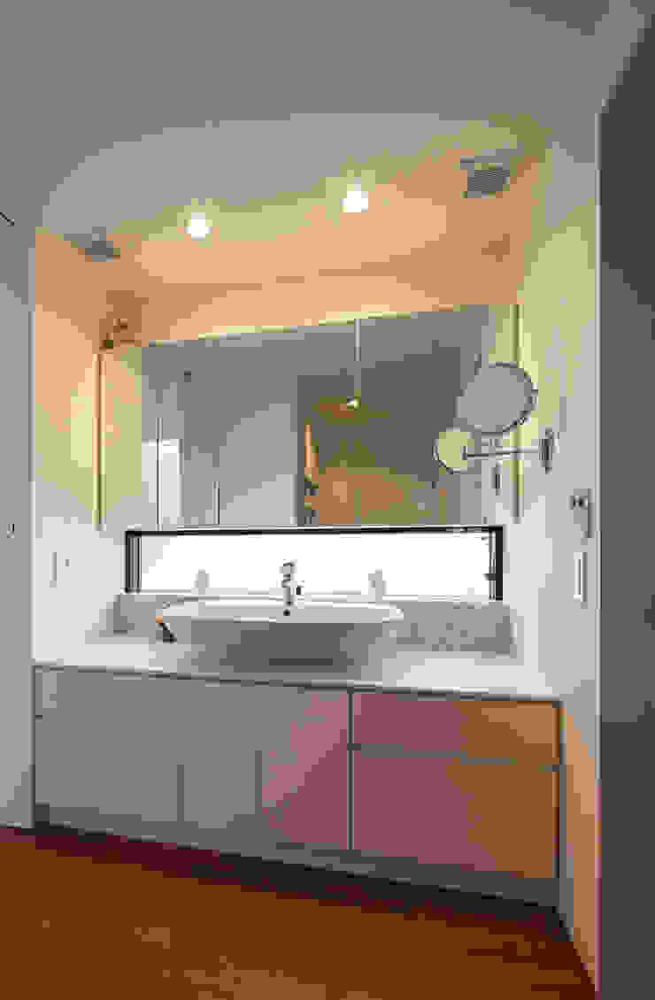아시아스타일 욕실 by 設計事務所アーキプレイス 한옥