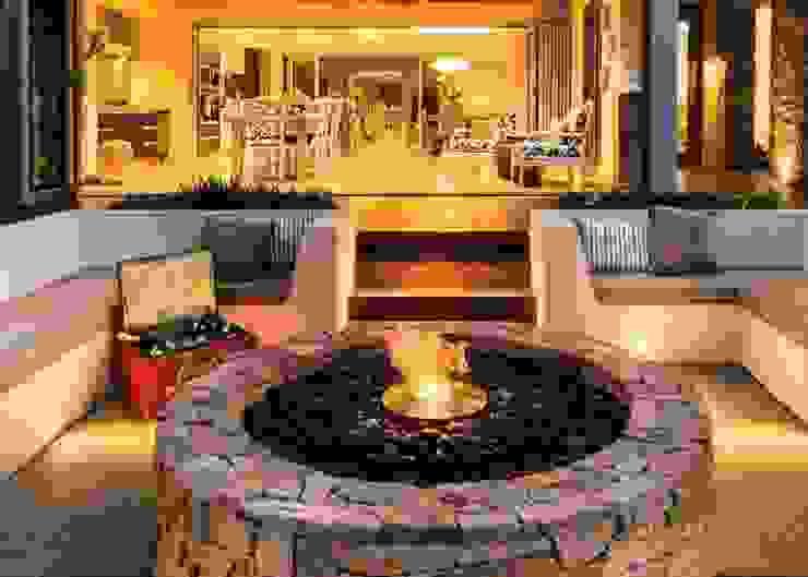 EcoSmart Fire kominki ekologiczne z Australii: styl , w kategorii Hotele zaprojektowany przez ilumia.pl,Nowoczesny