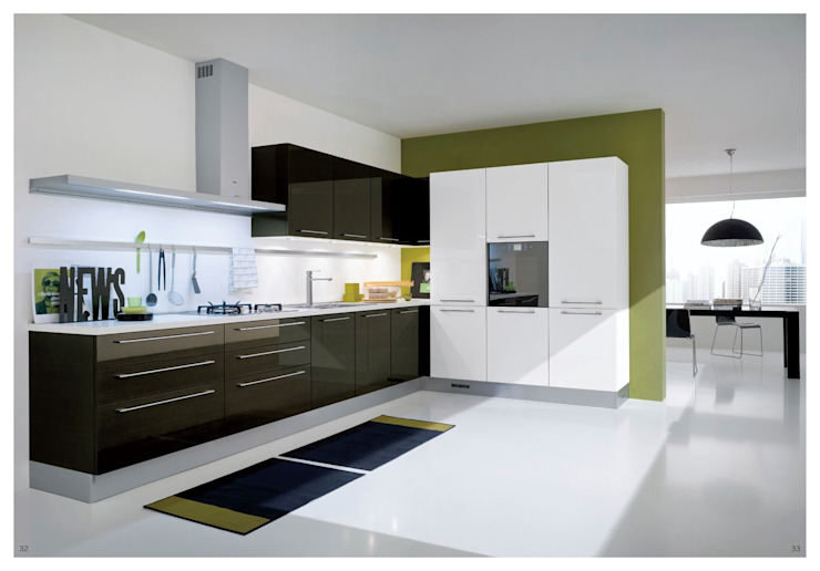 Кухня в стиле модерн от Tadilat Şirketleri Модерн